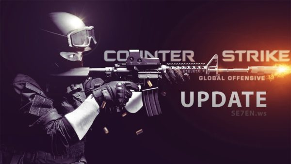 CS: GO Update Poster