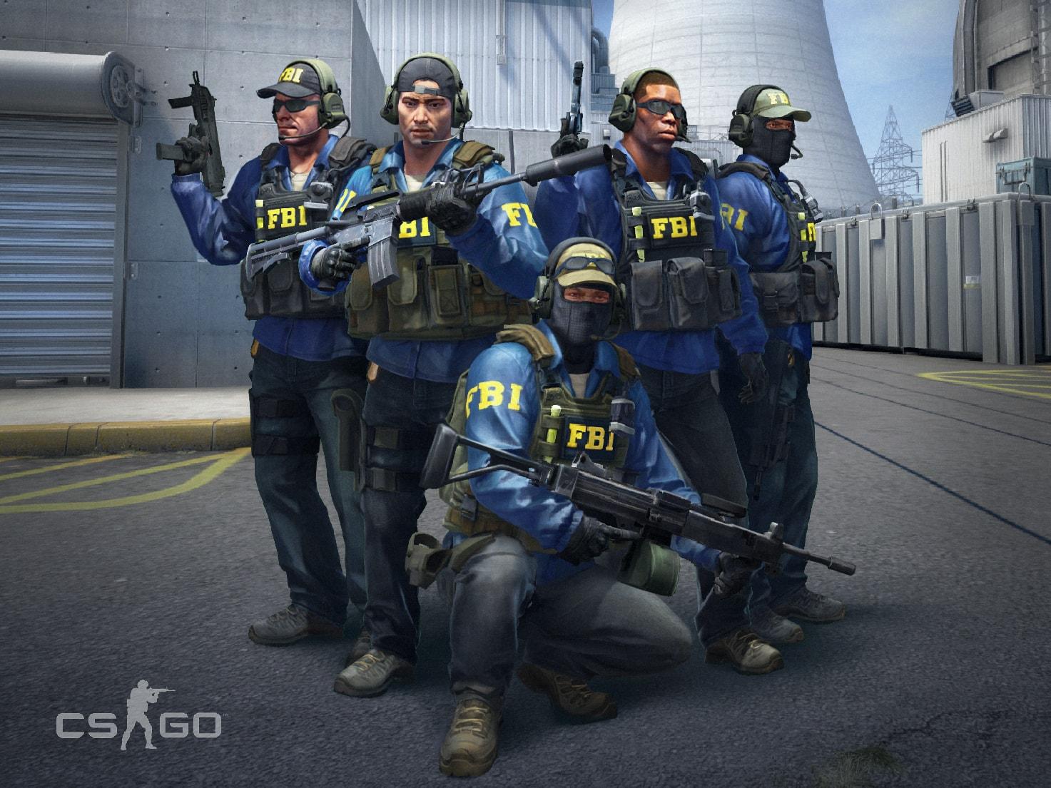 Новые модели FBI персоонажей для CS:GO