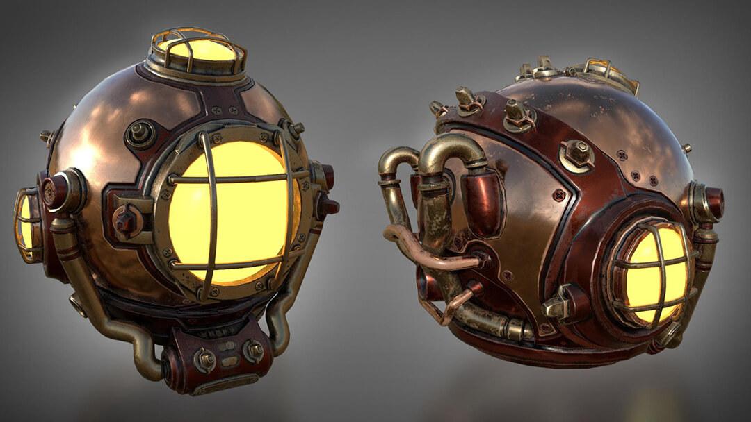 NMS Diving Helmet 1