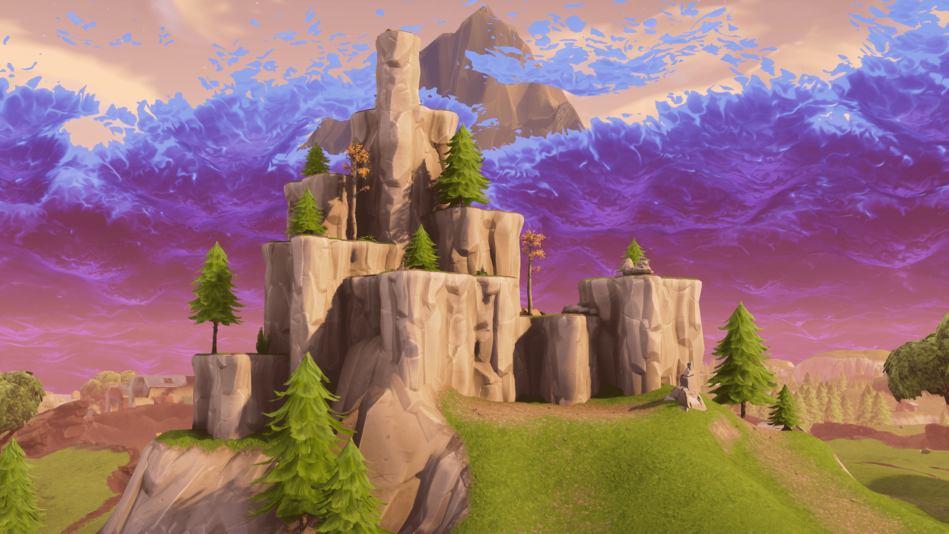 Mountains in Fortnite