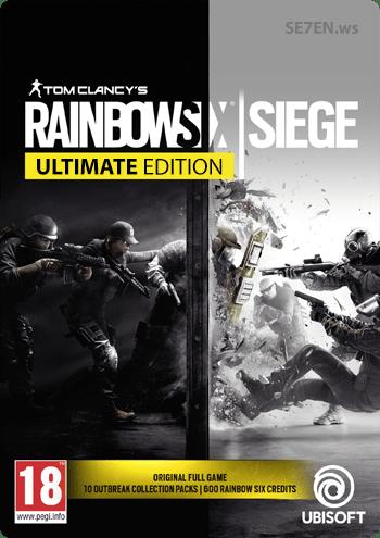 Rainbow 6 Siege - Обложка