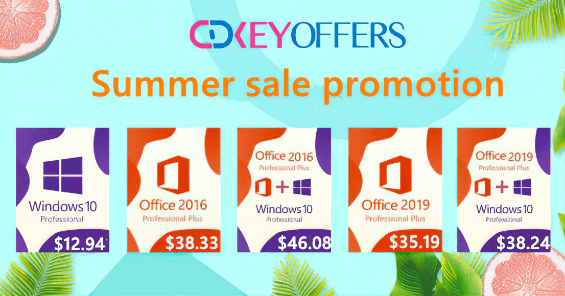 Cdkeyoffers - Summer sale promotion