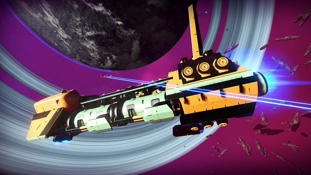 NMS - Freighter inventory upgrades #1
