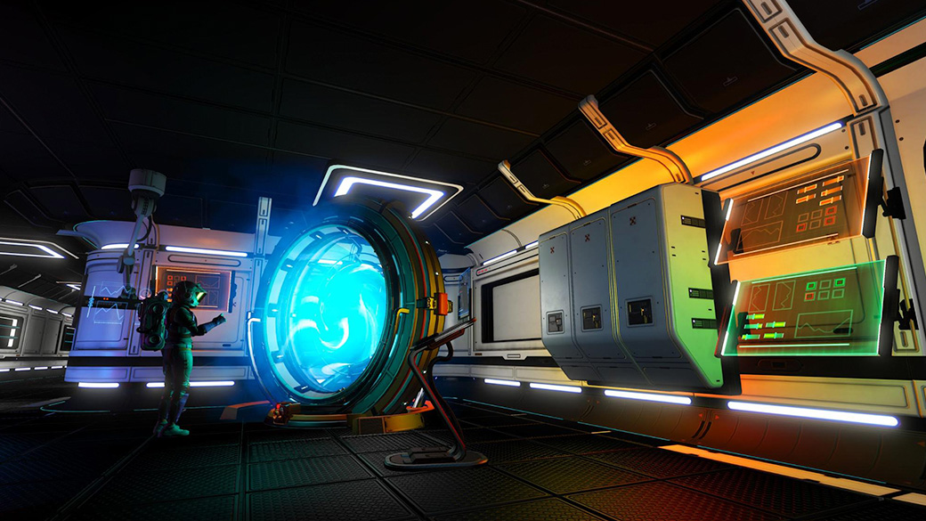 NMS - Freighter teleporter