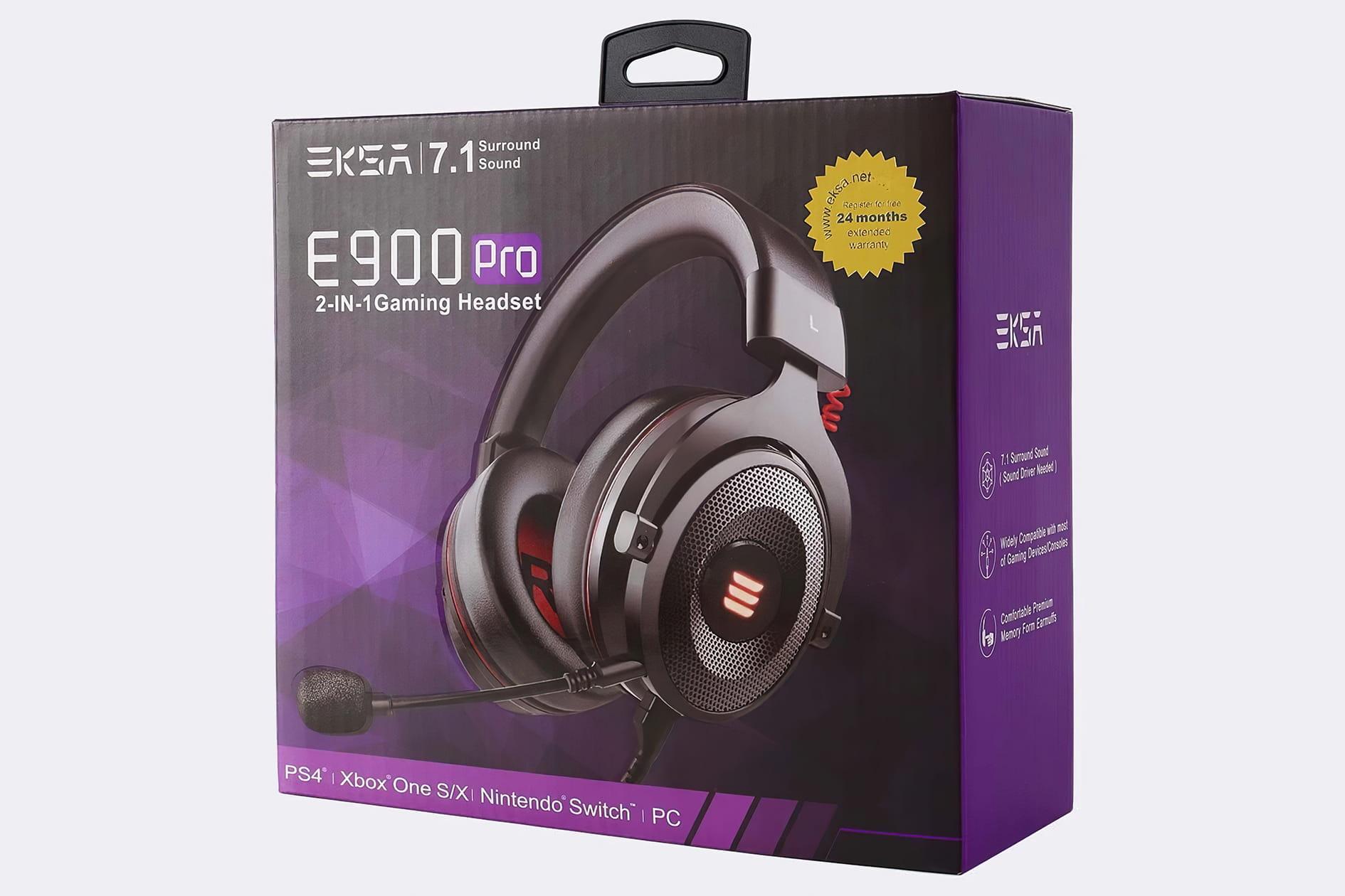 EKSA E900 Pro Headset - Box