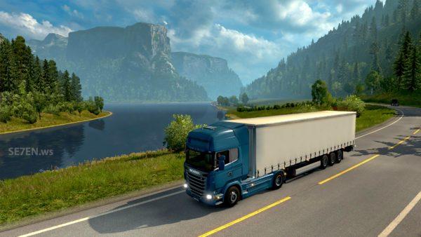 Euro Truck Simulator 2 - Скриншот #1