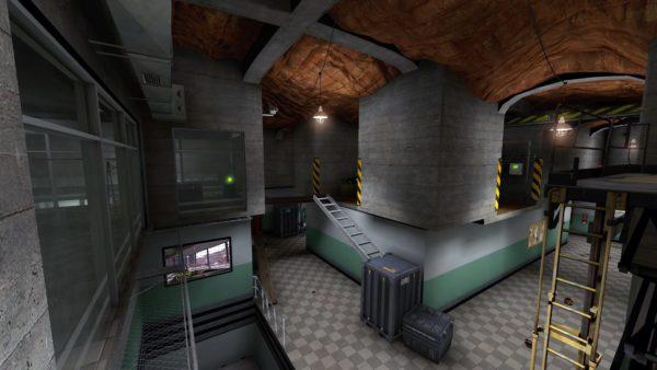 Карта dm_archives для Black Mesa