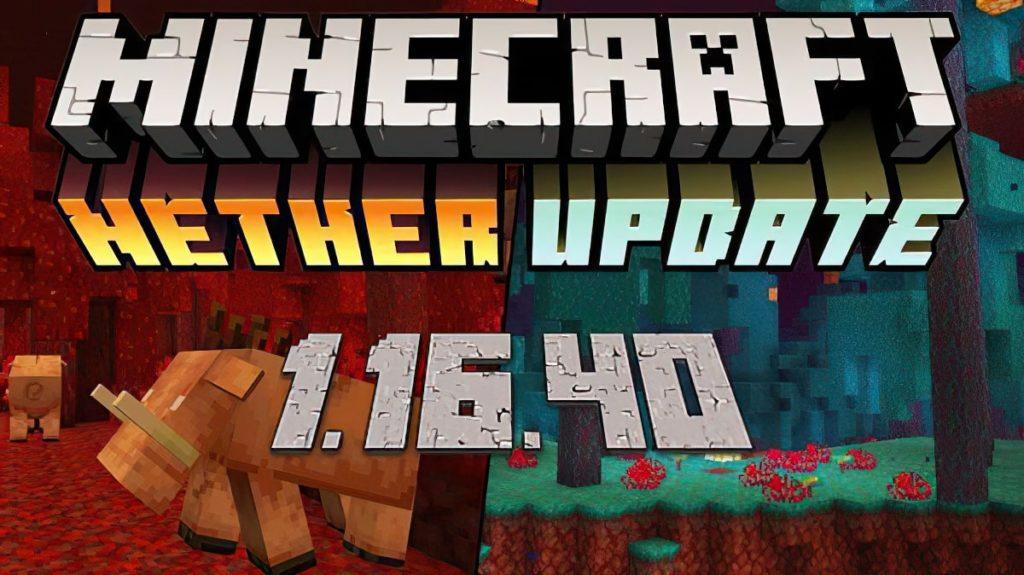 Download Minecraft Pe 1 16 40 Apk Free Nether Update