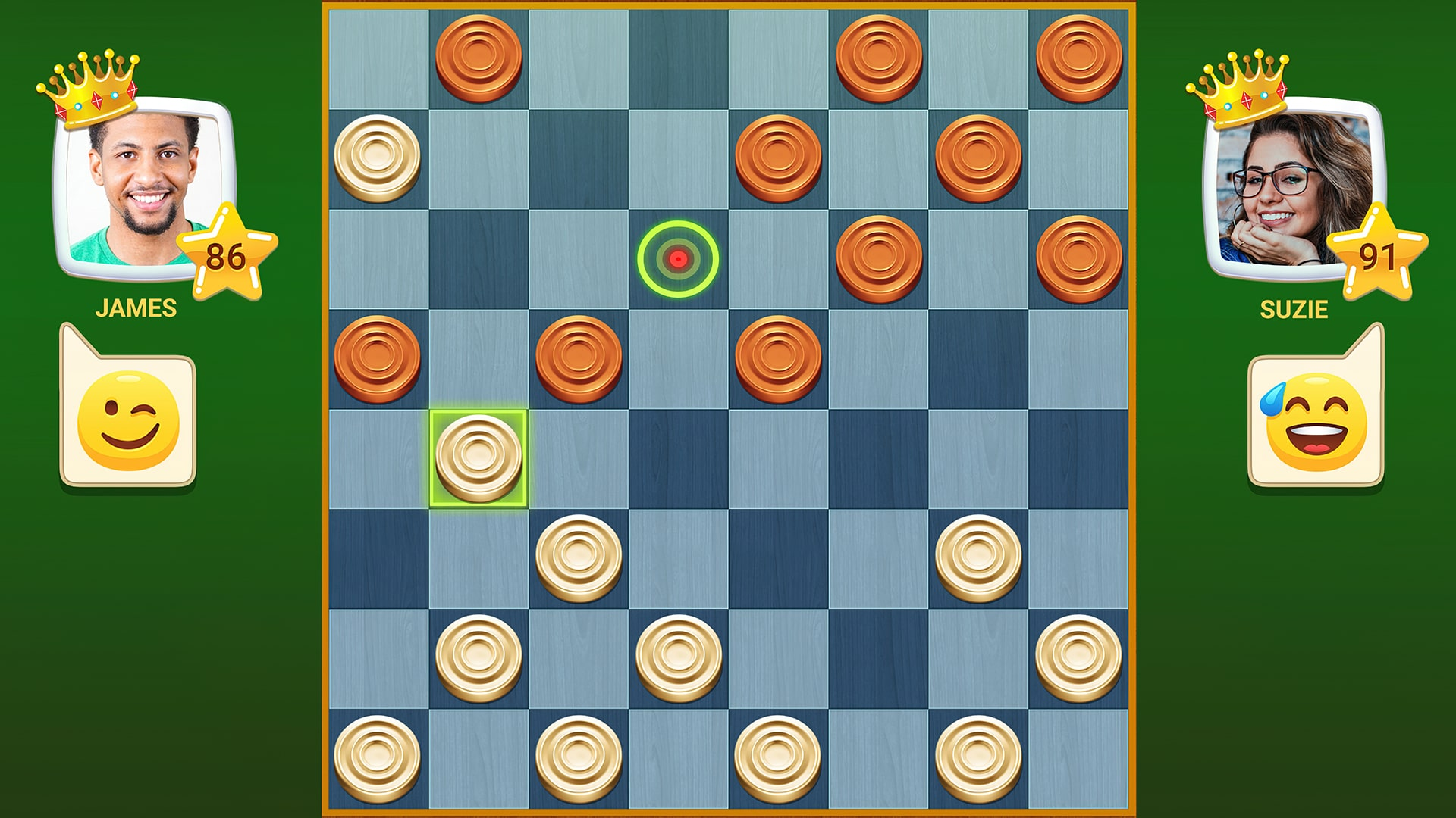 Quick Checkers - Игровой процесс