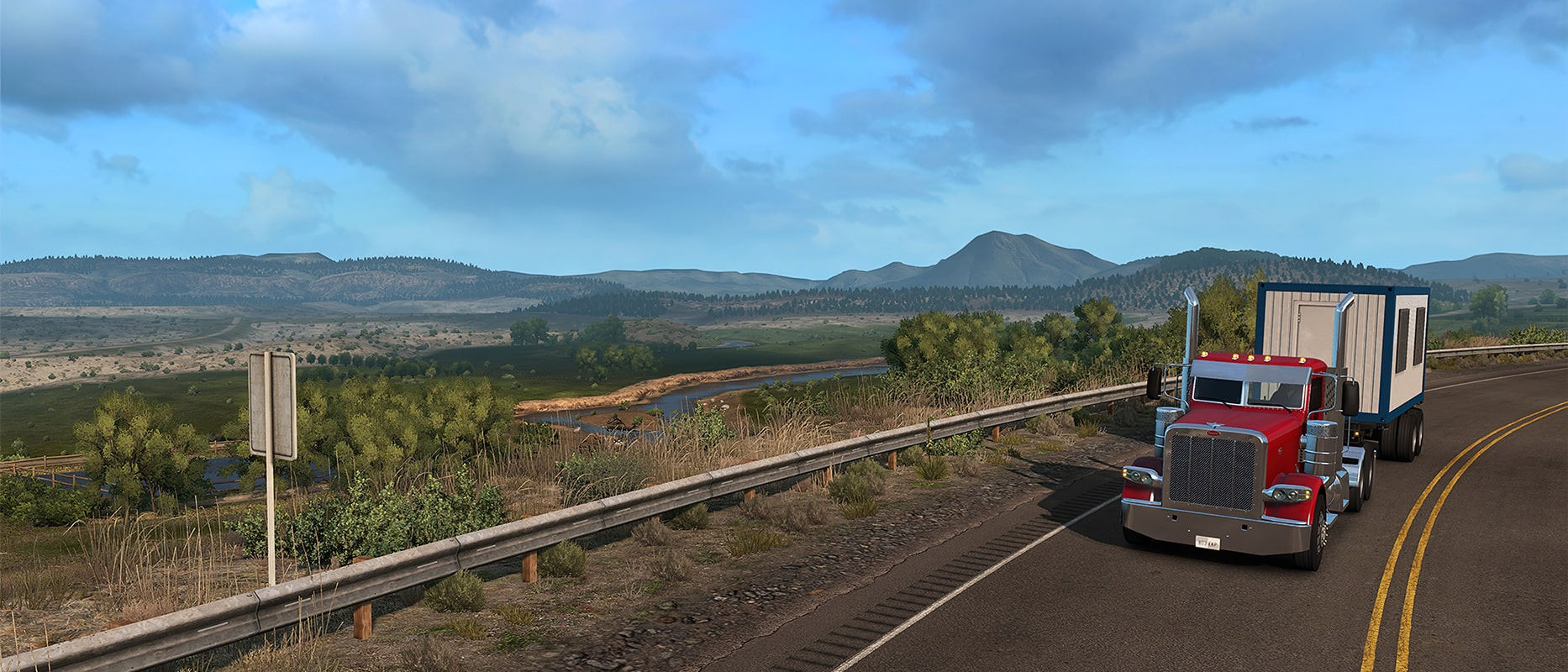 American Truck Simulator - В пути
