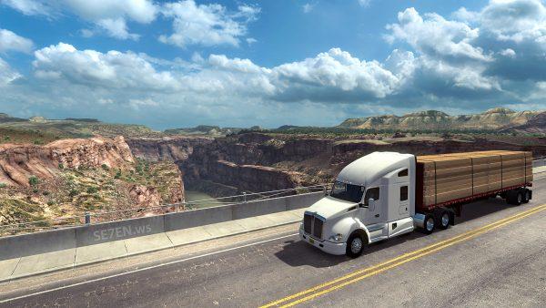 American Truck Simulator - Скриншот #2