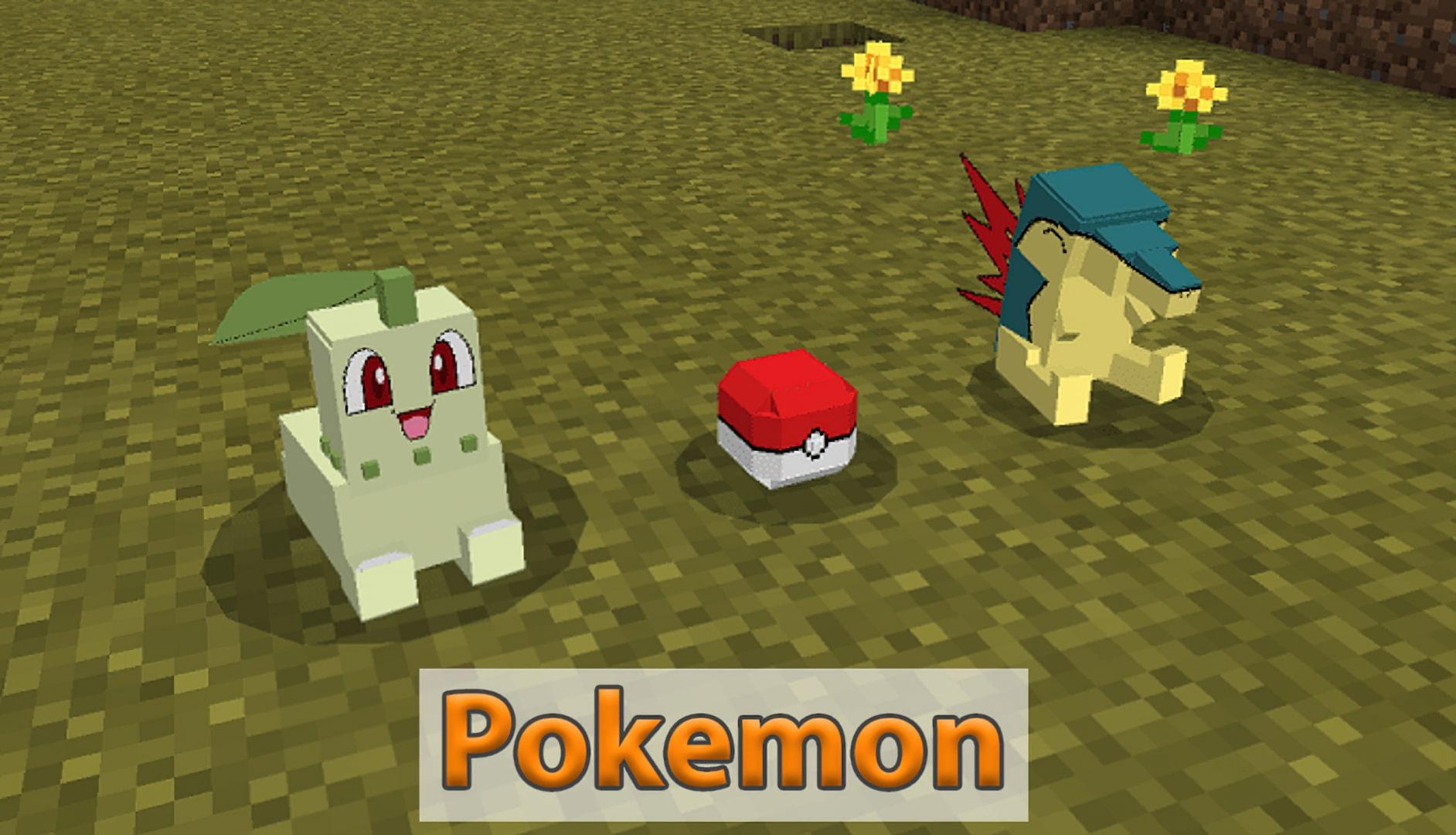 Pokemon in Minecraft