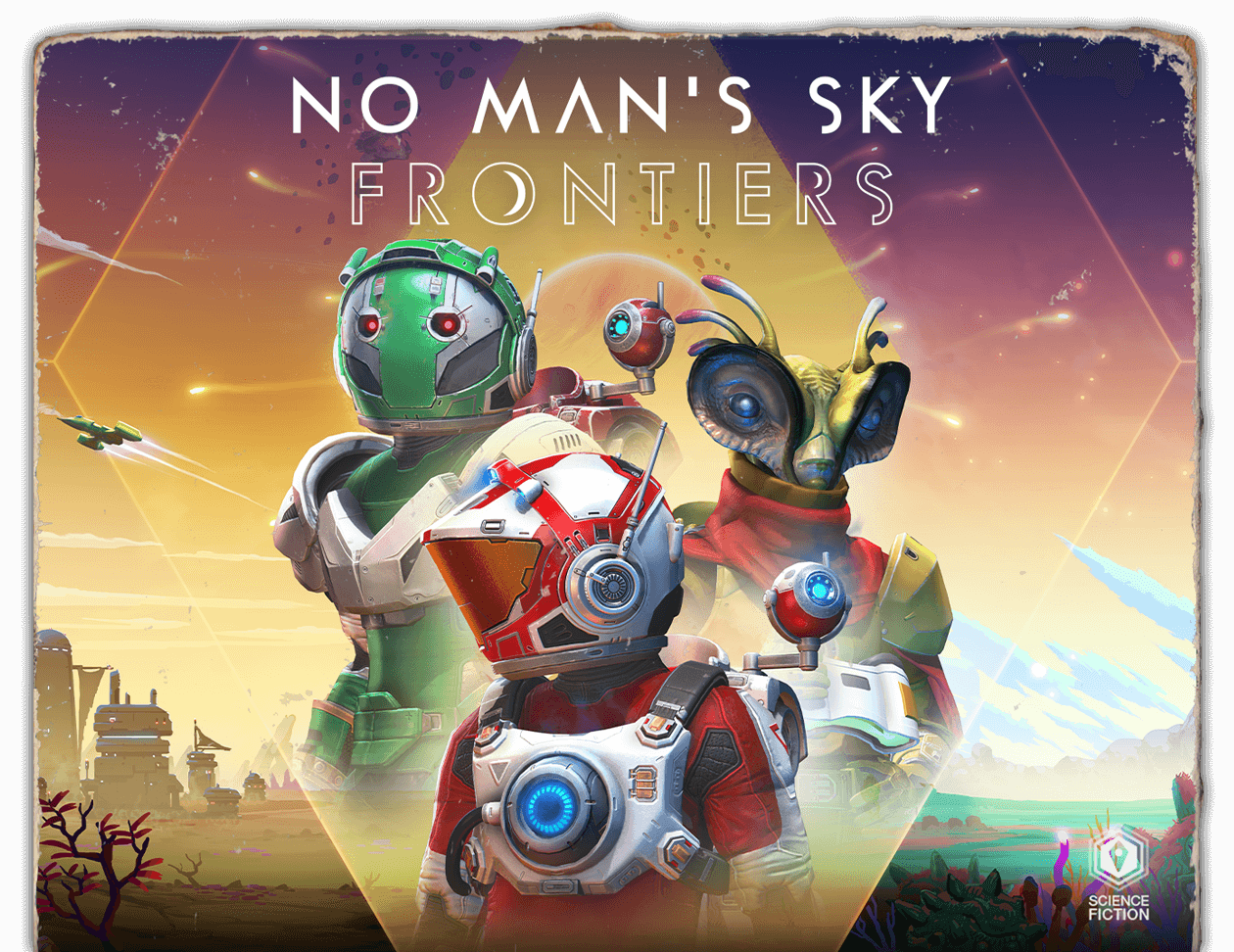 No Man's Sky Frontiers - Cover